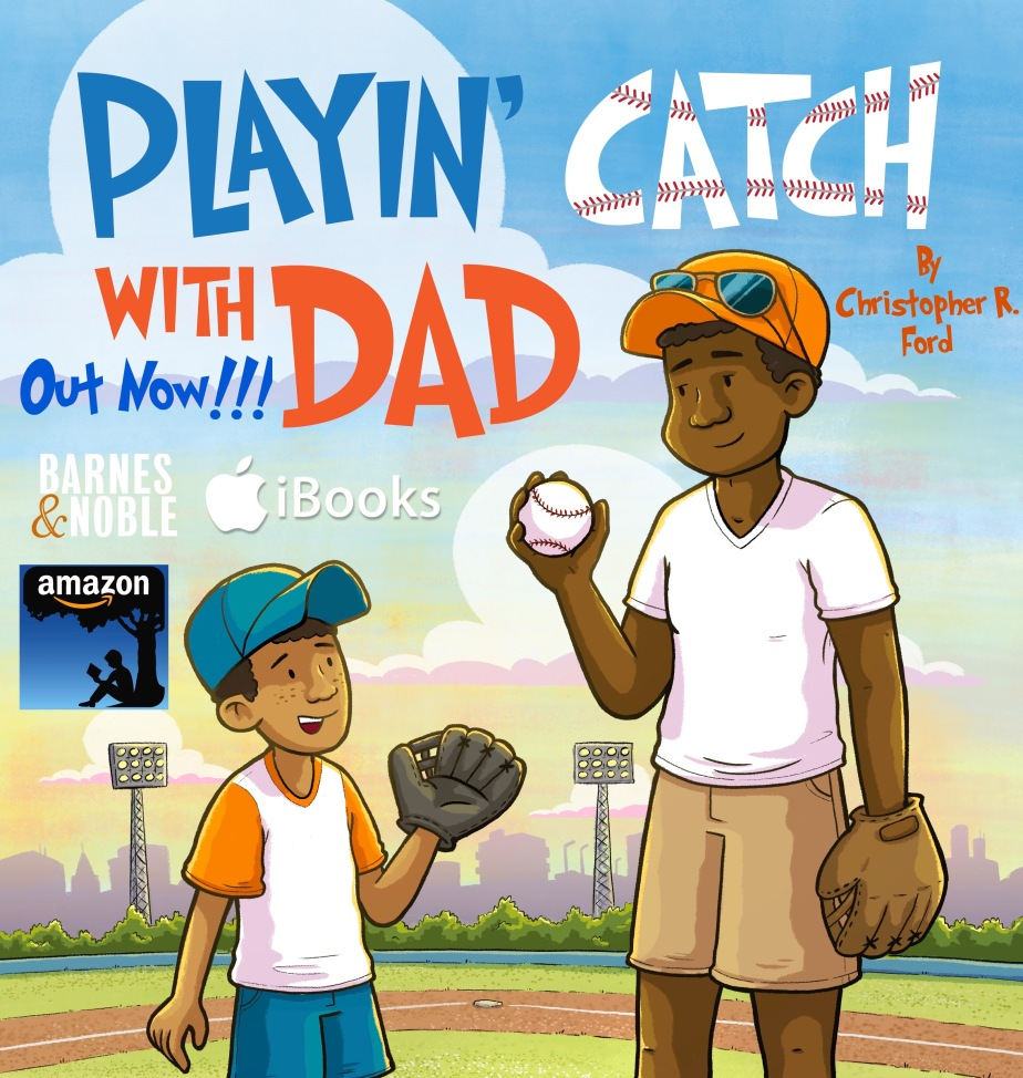 Playin' Catch With Dad Book logo