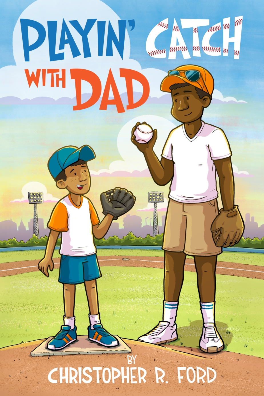Playin' Catch With Dad Book